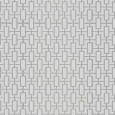 Wallpaper Retro Modern Small Geometric Silver Grid Trellis Gray Tone on Tone