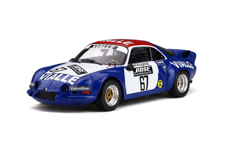 OTTO 1 18 Alpine A110 Gr.5 Rallye Cross 1977 Team Vialle OT795