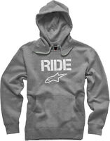 Alpinestars Ride Pullover Hoody In Heather Grey