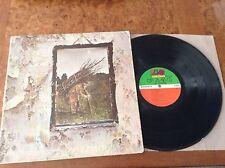 Led Zeppelin IV 4 Original Vinyl LP 1971 SD 7208 ZOSO Pecko Duck