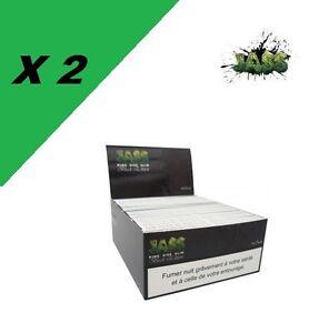 50 carnets feuilles jass slim black
