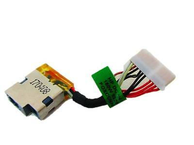 Original DC power jack cable harness for HP COMPAQ PRESARIO V3000 50.4F502.002