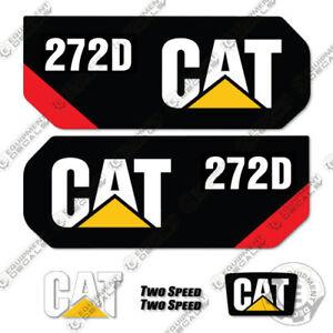Caterpillar 272D 2014 + Kit de Pegatinas Equipamiento Calcamonías 272 D