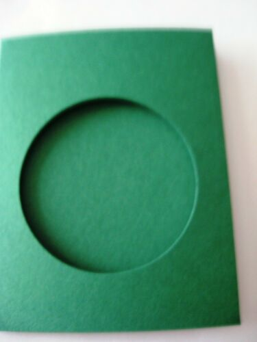 Aperture Cards Circle A6 3 fold with env YOU PICK COLOUR /& PACK SIZE