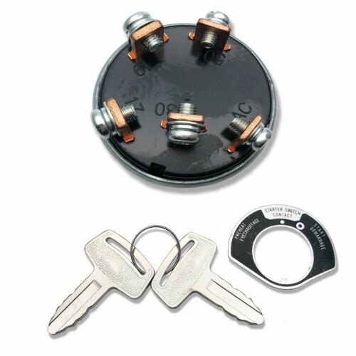 Starter Ignition Key Switch for Grasshopper 722D 722D2 722DT6 321D 721 G2 D D2