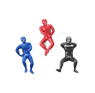 Kikkerland Luchador Wrestler Bottle Opener choice of color only(red/blue/black)