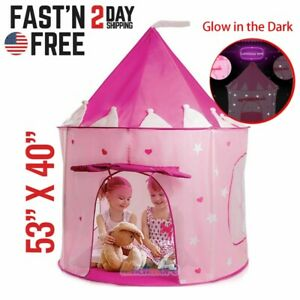 Princess-Castle-Cute-Playhouse-Children-Girls-Kids-Play-Tent-Toys-For-3-10-Years