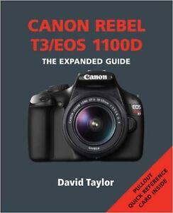 new canon rebel t3 1100d expanded guide ammonite camera book rh ebay ca canon t3 manual portugues canon t3 manual mode