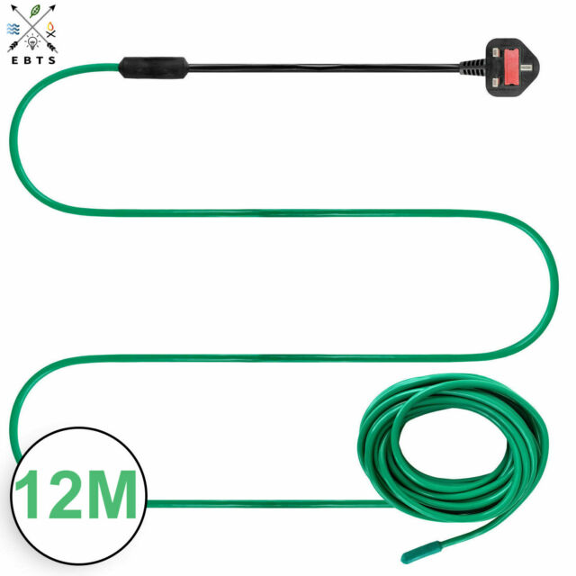 Elixir Gardens  /® 48m Soil Warming Cable Thermostat Heated Beds Propagator 250W