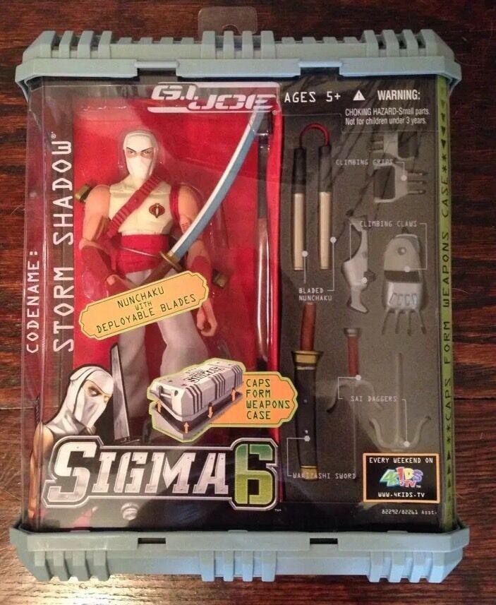 Hasbro G.I. Joe Sigma 6 Storm Shadow 2005 NIB Unopened