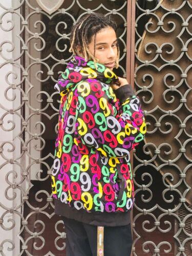 Men/'s Gino Green Global Black Hoodie 80/% Cotton 20/% Polyester Long Sleeve