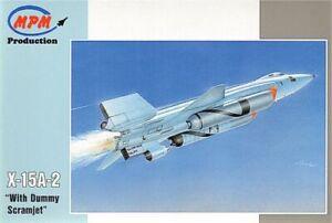 Mpm 1/72 X-15a-2 Avec Nourrisson Scramjet #72562