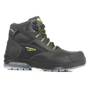 3f2e8f6bc8245 Image is loading Cofra-Gauguin-Black-GORE-TEX-Safety-Boots-Composite-