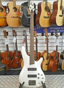 2015-Ibanez-Soundgear-SR300-4-string-electric-bass-guitar-in-Pearl-White