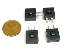 4 X Latching Push Button Switch Locks Onoff Flashlight Mini Small Torch Dc B27