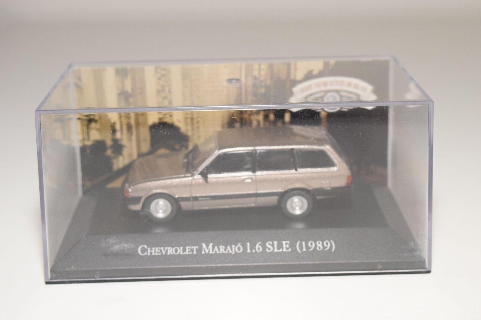 . ALTAYA IXO CHEVROLET CHEVROLET CHEVROLET MARAJO 1.6 SLE 1989 METALLIC CHAMPAGNE MINT BOXED 2b6df7