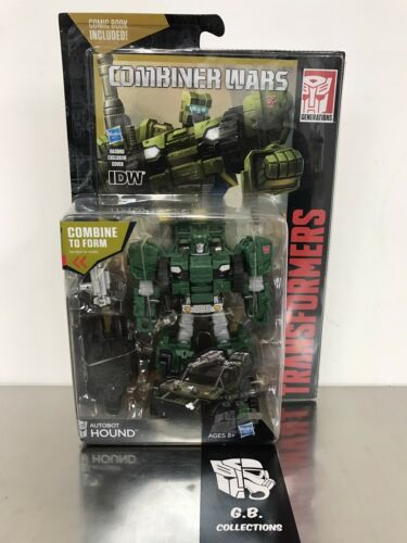 Transformers Combiner Wars Autobot Hound IDW DLX Class New Sealed