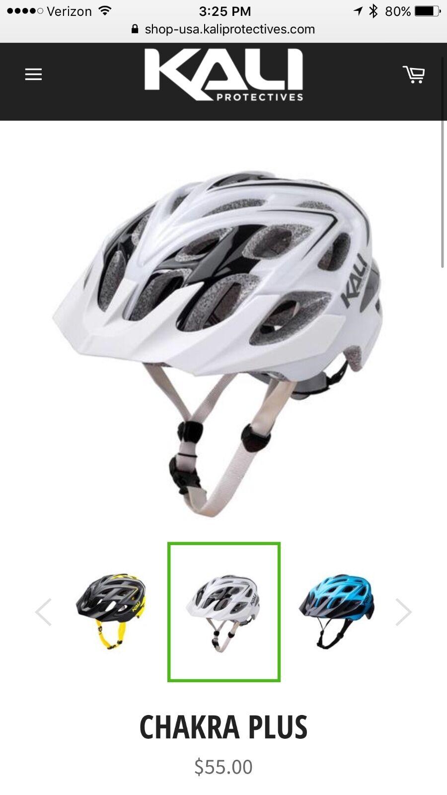 Kali  bike helmet, size s m, brand new in box