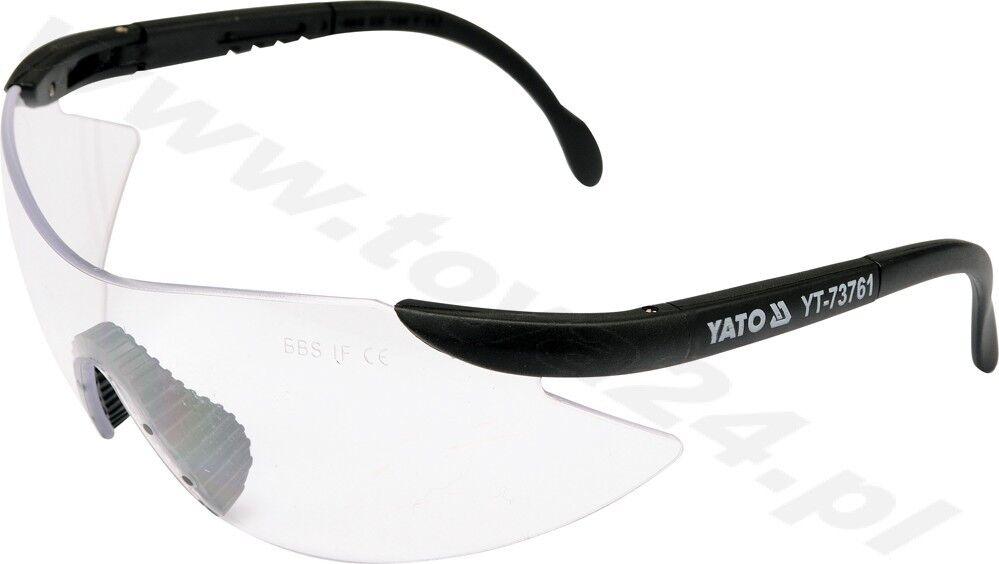 6 x Schutzbrille Scheibe farblos Arbeitsschutzbrille Brille Yato NEU YT-73761