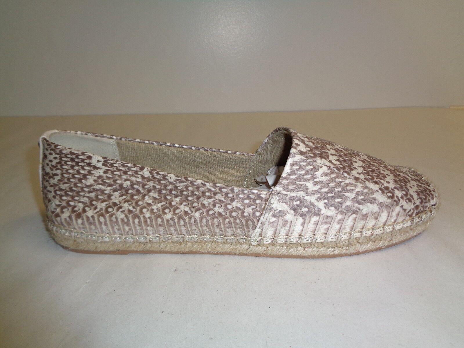 Sam Edelman Taglia 8.5 LYNN Snake Print Pelle Moccasins Loafers New Donna Scarpe