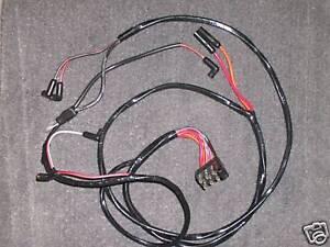 Super 1965 Ford Mustang Engine Gauge Feed Wiring 6 Cyl Gauges Ebay Wiring Digital Resources Funapmognl