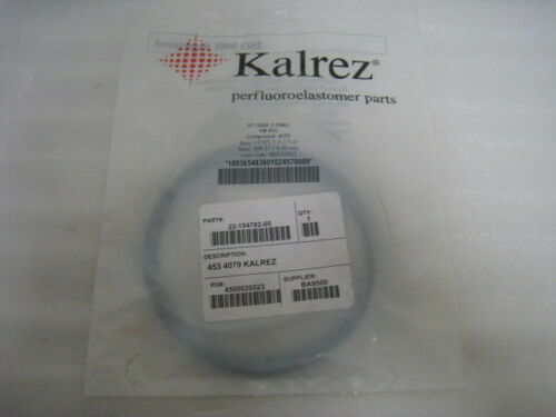 NEW Kalrez 2453, 453 compound 4079 oring, 11.975 x 0.275 INCH, TEL 2215478200