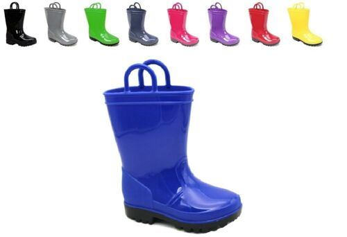 Skadoo KIDS RAIN BOOTS Toddler 5 to Big Kid 6 Girls or Boys WATERPROOF