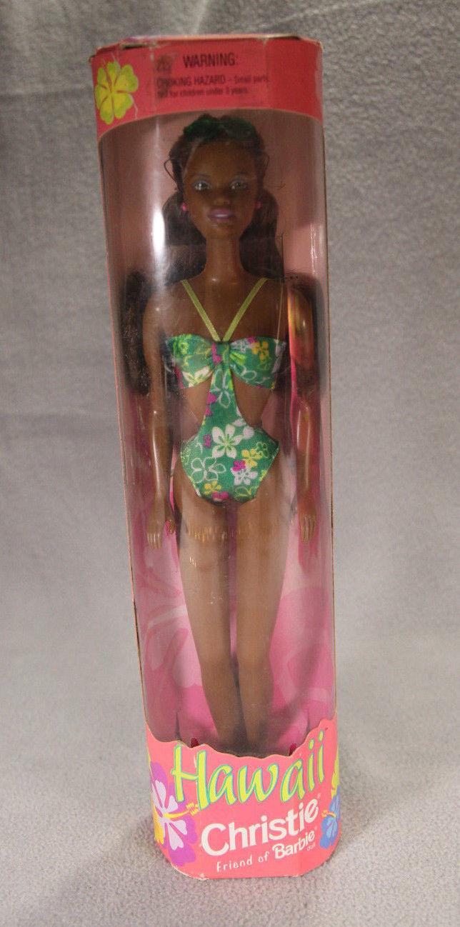 Muñeca Barbie Hawaii Christie Nuevo en caja de enmiendas 1999 Mattel 3+ ANB