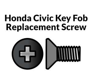 Honda Civic Key Replacement >> Details About Key Fob Screw Replacement Kit For Honda Civic 2006 2013 Repair Screw Honda Civic
