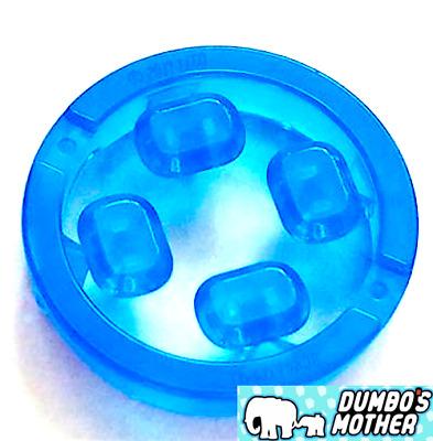 Infinity Stones Trans Dark Blue Rocks Weapon Avenger Infinity Wars Lego 4