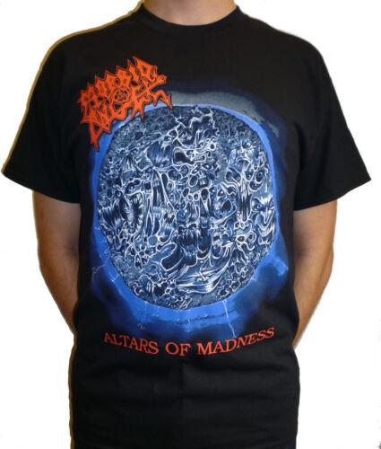 "Morbid Angel /""Altars Of Madness/"" Album Cover T-shirt NEW OFFICIAL"