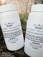 Organic 2 Body Powders Chamomile - Non Toxic Talc Free.