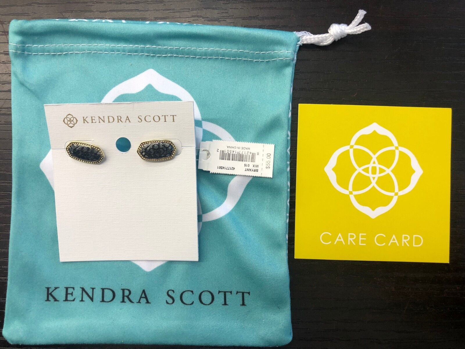 BRAND NEW W TAGS AUTHENTIC KENDRA SCOTT BRYANT EARRINGS MIX 016
