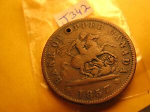 Bank-Of-Upper-Canada-1857-One-Penny-Token-IDJ342