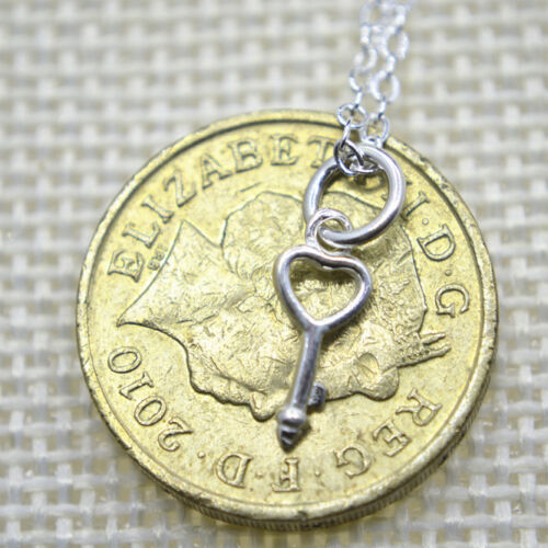 """Solid 925 Sterling Silver Small Cute Charm Pendant Necklace 17.7/"""" Chain Gift UK"""
