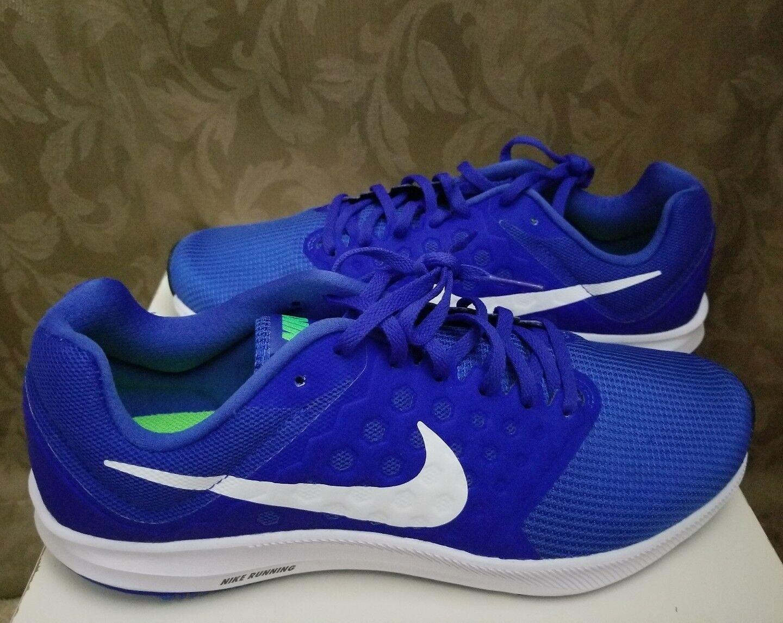 Nike Downshifter 7 Running Mens Shoes Mega Bule/white/Green Price reduction.