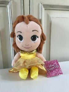 Glorieux ♥ Peluche Doudou Belle De La Belle Et La Bête Poupée Princesse Disney Nicotoy