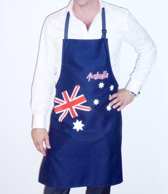 Australian Flag BBQ Apron Aussie Patriotic Apron superb quality