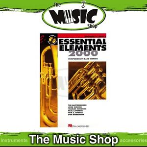 New-Essential-Elements-2000-Baritone-T-C-Book-2-amp-CD-Band-Method