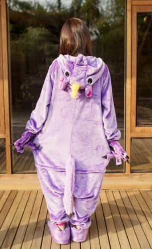 UK Adult Unicorn Unisex Women Kigurumi Animal Cosplay Costume Onesi6^^  Pajamas