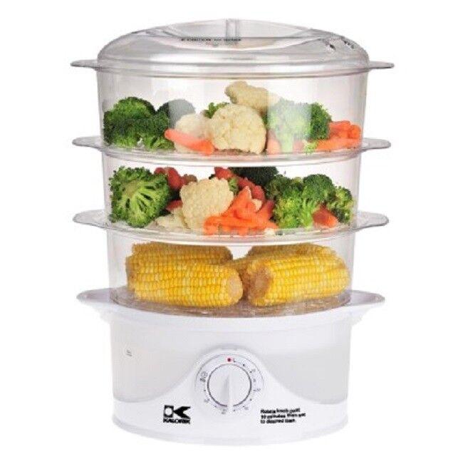 Kalorik DG 33761 3-Tier Food Steamer