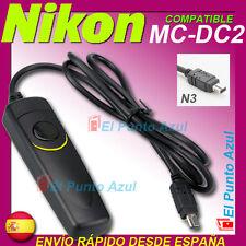 Mando Compatible  NIKON MC-DC2 ★ D750 D3300 D3200 D5500 D7200 D7800 COOLPIX A