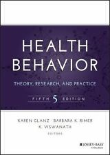 Jossey-Bass Public Health: Health Behavior : Theory, Research, and Practice (2015, Hardcover)
