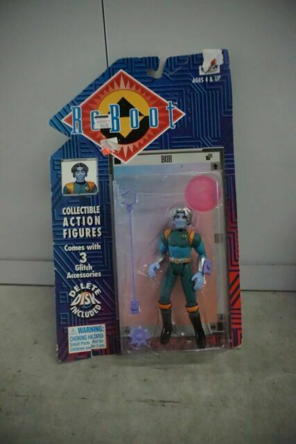 Irwin Toys Reboot Glitch Bob Action Figure