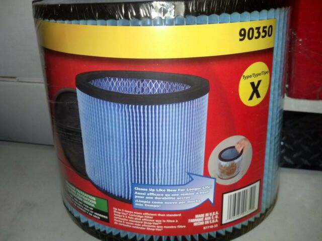 Shop-Vac Ultra-Web Cartridge Filter For Wet or Dry Pick Up
