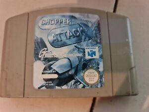 Nintendo 64 N64-Chopper ataque-Cartucho únicamente