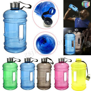 2-2L-Large-BPA-Free-Water-Bottle-Cap-Drink-Kettle-Sport-Training-Workout-Gym