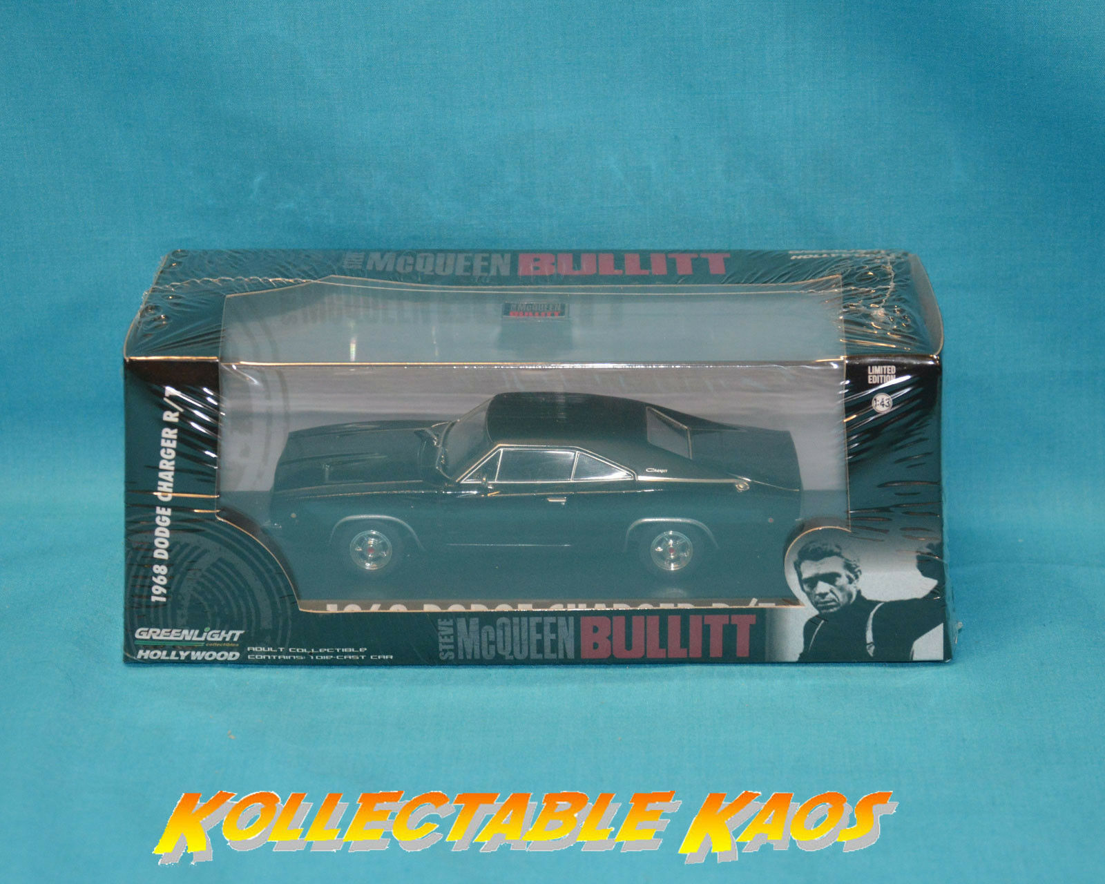 1 43 Greenlight - 1968 Dodge Dodge Dodge Charger R T - Steve McQueen Bullitt 06cae2