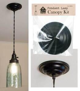 Image is loading Rustic-Antique-Pendant-L&-Canopy-Kit-Hanging-Ceiling- & Rustic Antique Pendant Lamp Canopy Kit Hanging Ceiling Lighting ...