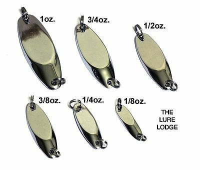 9 SIZES DEXTER WEDGE FISHING LURES